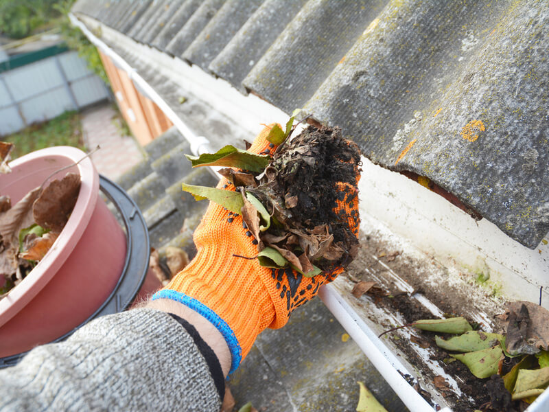 Gutter Cleaning in Davidson NC